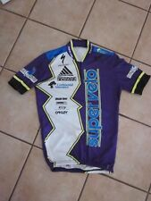 Cycling Jersey Bike Race Shirt Retro Vintage Super Velo Cycle Team Late 1980s