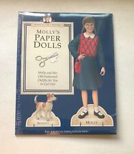 AMERICAN GIRLS COLLECTION PASTIMES Molly's Paper Dolls
