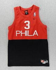 Philadelphia 76er s Nike Team Vintage Basketball Jersey (#3 Iverson) Youth Large
