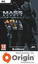 MASS EFFECT TRILOGY PC ORIGIN KEY