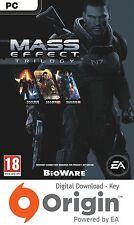 Masa Efecto Trilogía PC Origin Clave
