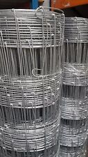 Galvanised Stock Fence C8/80/15  (50mtr roll) - Quality Wire