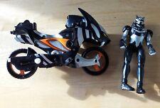 Jungle Fury Megaforce Power Rangers Figura De Bicicleta Negro 2007
