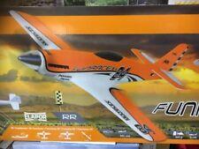 Funracer 165 km/h orange weiß Multiplex 1-00518 RR Servos, Regler und Motor