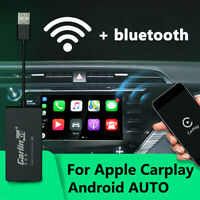 INSMA bluetooth Wireless CarPlay USB Dongle Smart Link For iPhone Auto Android !
