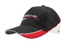 Porsche Motorsport Baseball-Cap schwarz / rot / weiß