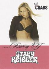 STACY KEIBLER 2004 Fleer WWE DIVAS SHOWING OFF Insert Card  #5SO