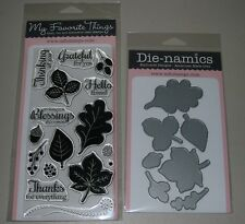 My Favorite Things - Fall Foliage - Clear Stamps and Metal Dies
