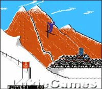 Winter Games - Classic NES Nintendo Game