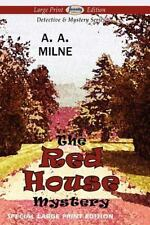 The Red House Mystery (large Print Edition): By A. A. Milne