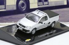 Chevrolet Montana 2003 Brazil Rare Diecast Scale 1:43 New With Stand