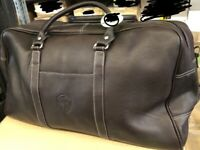 Latico Leather Cabin Travel  Duffel Bag Business Brown NEW  WB Warner Brothers