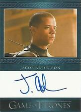 "Game of Thrones Season 5 - Jacob Anderson ""Grey Worm"" Autograph Card"
