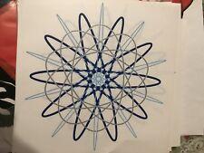 Vintage Original Atom Atomic Age Transfer NOS