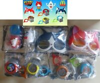 mcdonalds YOKAI WATCH happy meal NEW SEALED toys COMPLETE AUSTRALIA SET