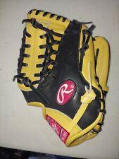 Rawlings Gold Glove 11.5in Black/Tan Leather - GGP200-4