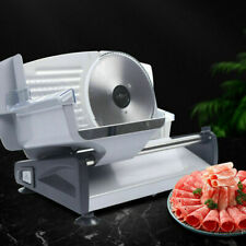Meat Slicer Electric Stainless Mutton Roll Beef Roulade Deli Food Machine 110v