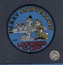 C-130 HERCULES MAINTENANCE USAF US NAVY USMC Lockheed Squadron Crew Patch