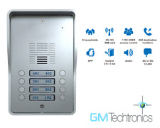 GMTechtronics | GMT-3Gi-8 | 8 Button 3G GSM Surface Audio Intercom Entry System