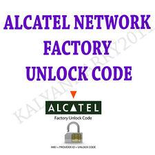 Unlock Unlocking Code Alcatel 720 OneTouch OT-720  Sim me Pin Fast