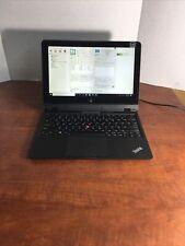 """New listing Lenovo Thinkpad Helix 11.6"""" I5-3427U 4Gb 128Gb Msata Fhd Win10 Pmb947"""
