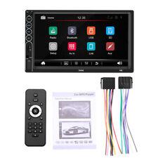 7'' 2Din Touch Screen Car MP5 Player Bluetooth Stereo FM Radio HD Rear Camera