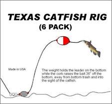 Texas Catfish Rig ( 6 Pack)