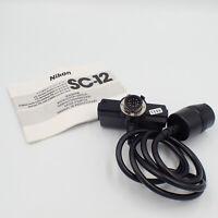 Nikon SC-12 TTL Remote Speedlight Flash Cable Cord For SB-11 SB-14 SB-140 C49344