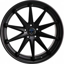 Rohana 19x8.5 /9.5 5x114 +35/40 Matte Black Rims Fits Nissan 300 350Z Is250 350