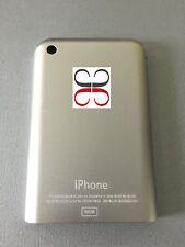 Part Gehäuse back ersatzteile retro cover für iPhone Edge 2G version 16GB silber
