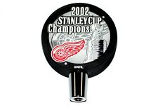 2002 Detroit Red Wings NHL Stanley Cup Champions Hockey Puck Beer Tap Handle