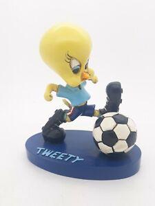 Tweety Bird playing soccer figurine Acme Sport Warner Bros 1994