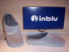 Inblu Pantofole Ciabatte invernali da Donna Art. Bs-24 Argento slippers