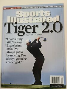 Tiger Woods Sports Illustrated No Label 2007 Tiger 2.0
