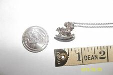 Sterling Silver Rocking Horse Pendant necklace