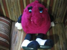 """24"""" plush California Raisin doll, good condition **eyes have scratches**"""
