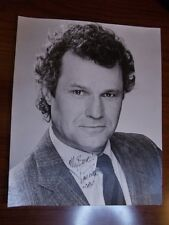 Patrick Tovatt - As the World Turns - Signed 8x10 photo photograph Cal Stricklyn