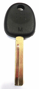 FOR HYUNDAI ACCENT VELOSTER UNCUT TRANSPONDER CHIP KEY BLANK HY18-PT