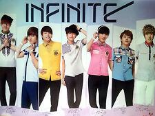 Infinite Elite School Unifofrm PROMO POSTER - L  Woohyun Sungkyu Hoya Dongwoo ..