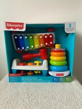 Fisher-Price Tap & Stack Gift Set perfect for 6+ months fine motor skill toys