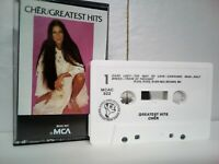Cher Greatest Hits 1974 Cassette Tape Album Pop Dance Rock 80s 90s used