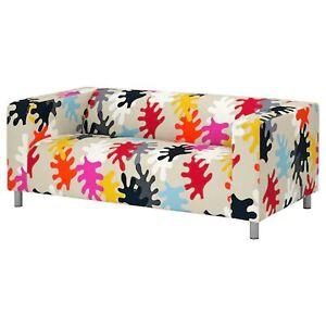 Ikea cover set for Klippan 2-Seater Sofa in Mattsbo Multicolour  804.256.22