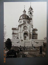 Vintage Cabinet Card 11 X14 Enge Church (Kirche Enge) Zurich Switzerland