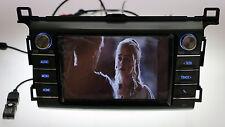 "OEM Toyota RAV4 CD Player Radio 8"" Bluetooth Backup Camera Music Movie 2013-17"