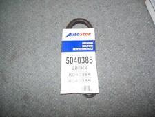 NOS 385K4 Serpentine Belt Fits Multi. 05 - 85 Acura, Mitsu., Ply., & More Apps.