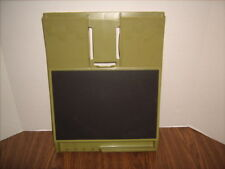 Vintage Rubbermaid Message Center Wall Decor Olive Green Excellent Shape