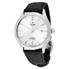 Tudor Style Automatic Silver Dial Mens Watch 12710-SVLS