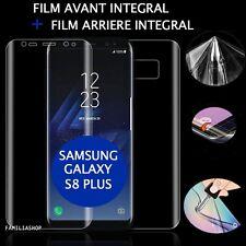 Film protection total intégral pour Samsung Galaxy S8  PLUS + 1 film arrière