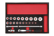 "WURTH ZEBRA VERA SOCKET WRENCH Assortimento toolsystem 1/2 ""Socket Set 23 PC"