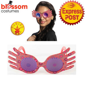 AC1114 Luna Lovegood Spectre Specs Glasses Costume Prop Harry Potter Psychedelic